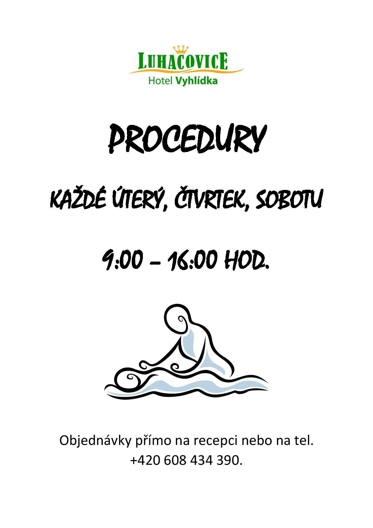 PROCEDURY leták
